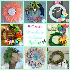 8 Great Wreaths to W