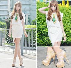 60fb2dc0e5 love the dress  amp  necklace.. Bounce (by Camille Co) http
