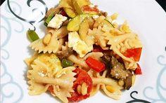 Μακαρονοσαλάτα με ψημένα λαχανικά - Χρυσές Συνταγές Pasta Salad, Ethnic Recipes, Food, Crab Pasta Salad, Essen, Meals, Yemek, Eten