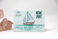 3 Stück personalisierte Magnete - Gastgeschenke zur Taufe Sailing in Love Etsy, Baptism Ideas, Guest Gifts, Magnets, Craft Gifts
