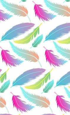 Wallpaper-feathers: