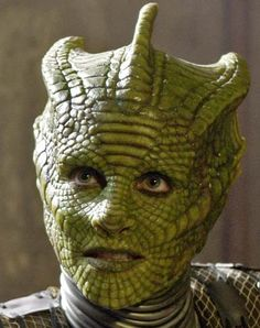 Madame Vastra Makeup
