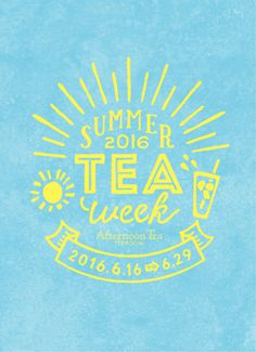 SUMMER TEA week 2016