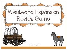 Westward Expansion Review powerpoint - jeopardy
