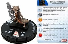 Marvel Heroclix Guardians of The Galaxy Movie #005 Rocket Raccoon