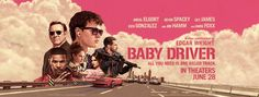 #BabyDriver  There's lots of fast driving but will the storyline hold your attention?  My not more than a one-minute-read movie review and movie rating is posted.  Follow all of my movie reviews via FB M.U.S.E. Enthusiasts and https://museenthusiasts.wordpress.com/