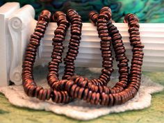 Copper Color Spacer Beads Spacer Beads Brass/4mm/50 pieces by BeachCastleBeads, $2.95
