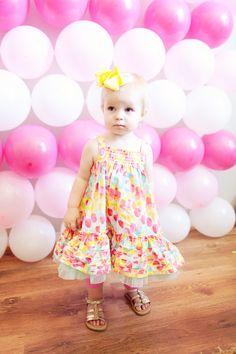 Pink Balloon Birthday Photo Booth