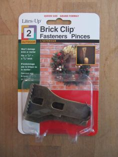 Brick Clips - I finally know where to get them!  Ace Hardware