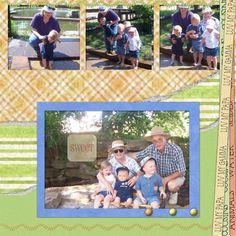 Deanna Rose Farmstead with Grandma and Grandpa