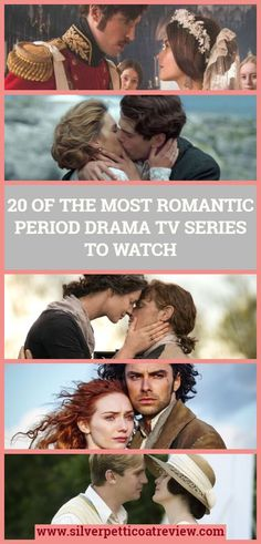 We rounded up a list of 20 of the most romantic period drama TV series to watch. From Downton Abbey to Poldark, Victoria, Grand Hotel, and more. Check it out and find some new shows to watch. dramas 20 of the Most Romantic Period Drama TV Series to Watch Best Period Dramas, Period Drama Series, British Period Dramas, Drama Tv Series, Tv Series To Watch, Period Movies, British Drama Series, Bbc Tv Series, Acteurs Poldark