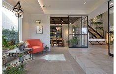 土間じゃなくタイル貼りだとこうなる Arch Interior, Room Interior Design, Interior Architecture, Loft House, House Rooms, Dream Home Design, House Design, Japan Interior, Sendai