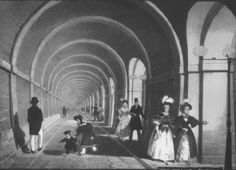 The Thames tunnel, opened #OTD in 1843, was named the 'eighth wonder of the world' by awe-inspired Victorians. (6) Twitter
