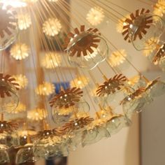 DIY Sputnik Chandelier