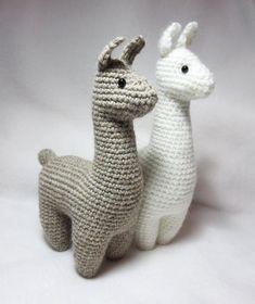Crochet Pattern: Llama Amigurumi Plush
