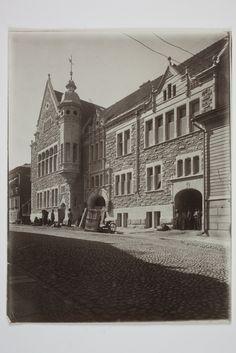 Nylands Nationin talo, rakennettu 1901. Svenska litteratursällskapet i Finland 1902.