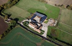 Ariel view of Yockletts Farm. Luxury Holidays, Ariel, Home, Ad Home, Homes, Haus, Houses