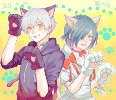 kitty Touka and Kaneki - Tokyo Ghoul