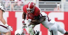 NCAA Football: Derrick Henry:Texas A&M at Alabama