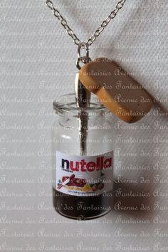 Fiole de Nutella et tartine