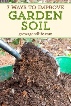 Healthy soil is important for growing strong, vigorous plants that resist pests and diseases and produce abundantly. Use these tips to improve garden soil for a thriving vegetable garden. Garden Compost, Garden Soil, Garden Beds, Garden Landscaping, Big Garden, Dream Garden, Herb Garden, Garden Paths, Garden Art