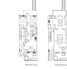 2 Bed Garden Level Rental Owner Unit Parlor Floor