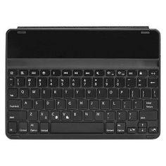Kensington KeyFolio Thin X2 Plus iPad Air 2 Backlit Keyboard Case (Black)