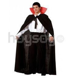 Auténtica capa con cuello para complementar tu #disfraz y disfrutar de tu fiesta de #Halloween #Disfraces