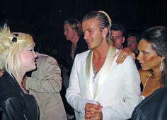 David Beckham Half Up Half Down