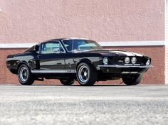1967 Shelby Tribute based on a 1968 fastback Ford Mustang 1967, Ford Mustang Shelby Cobra, Ford Mustang For Sale, Ford Shelby, Mustang Fastback, Shelby Gt500, Ford Mustangs, Mustang Boss, My Dream Car
