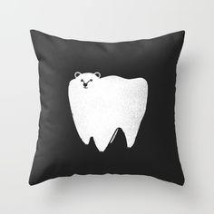 Molar bear & other puns pillows | $17.99