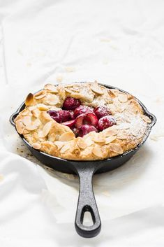 Cherry galette / cherry and cardamom galette / cherries food photography / galette food photography / tart food photography