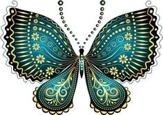 """Photo from album """"Рисованные бабочки"""" on Yandex. Butterfly Mobile, Views Album, Crafts, Stained Glass, Butterflies, Yandex Disk, Cricut, Stickers, 3d"""