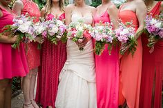 Oh the COLOR! Nancy Saam Flowers Photo from Ian & Kelley collection by We Laugh We Love