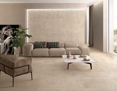 Cornerstone by Ergon #emilgroup #stone #floor #tiles #design #rockface #living