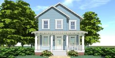 Plan 44120TD: 3 Bed Country Cottage With Detached Garage
