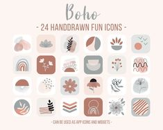 Icon Package, Moon Icon, Aesthetic Look, Iphone Icon, New Phones, App Icon, Homescreen, Ios, How To Draw Hands