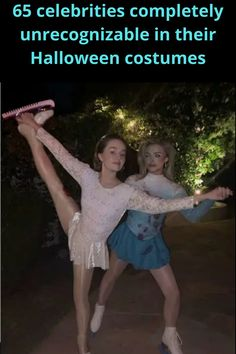 """Celebrities do Halloween """"way big."""" After all, they have the funds, stylists, and make-up artists to help them. So, each year we can look forward to seeing their spectacular Halloween transformations."""