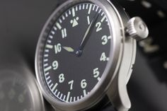 Pilot Navigation Watch in Pilot, Military, Watches, How To Make, Design, Clock, Wristwatches, Pilots