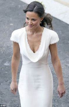 At number 10 we have the bottom of the tops, Pippa Middleton.