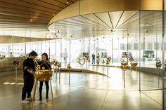 Musée Atelier Audemars Piguet is a Contemporary Celebration of Time Audemars Piguet, Famous Album Covers, Glass Pavilion, Space Tourism, New Museum, Gucci Men, Burberry Men, Switzerland, Photos