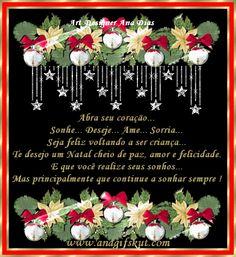 mensagem de natal ampliada para o face images | ... de natal para o facebook | Imagens para Facebook - Recados para