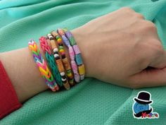 Kreattivablog - blog creativo : Estate creativa con i braccialetti colorati