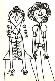 © muitos desenhos - mariana massarani