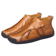 Obedient Mens Casual Shoes Breathable Large Size Driving Shoes Sets Of Feet Casual Handmade Leather Shoes Men Slip-on Soft Loafers High Quality Goods Men's Casual Shoes