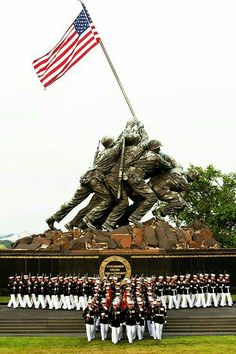 US Marine Corps War Memorial. My retirement flag was flown here. Once A Marine, Marine Mom, Us Marine Corps, I Love America, God Bless America, America 2, The Few The Proud, Support Our Troops, Military Life