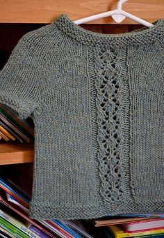 Ravelry: Diamond Panel Pullover pattern by Amy Grace