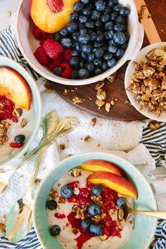 "vegan and gluten free raspberry cashew ""yogurt"" 30 Vegan Recipes for Breakfast, Lunch, and Dinner | StyleCaster"