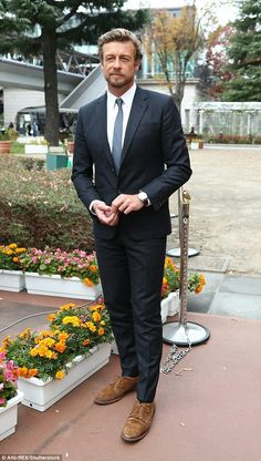 Simon Baker representing Longines at the Japan Cup 2016 in Tokyo