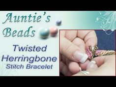 Twisted Herringbone Stitch Bracelet | Jewelry Making Videos